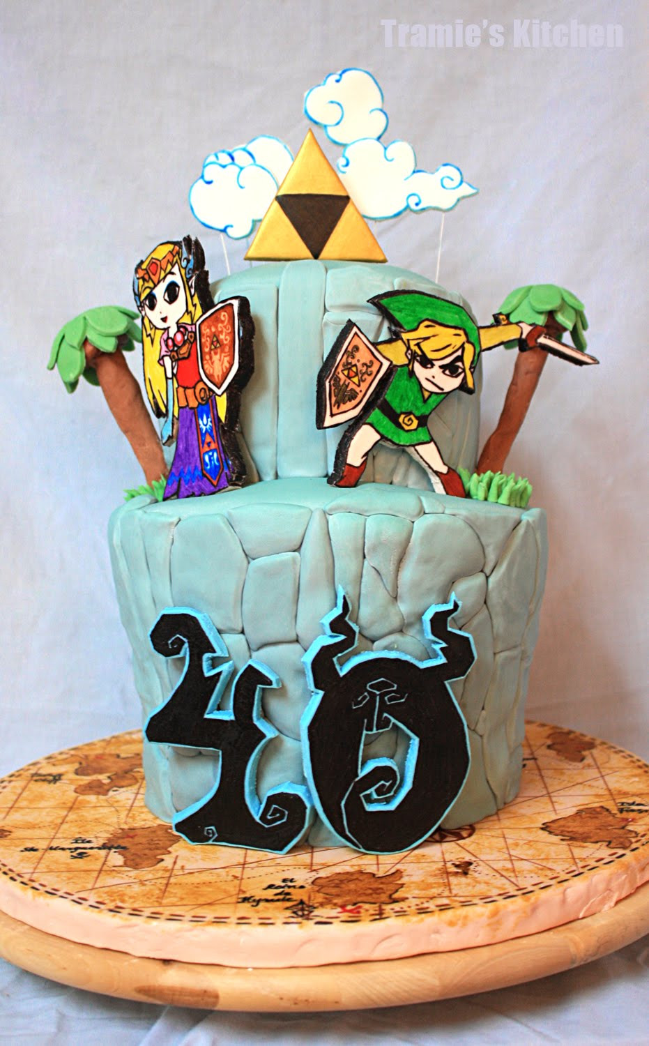 Best ideas about Zelda Birthday Cake . Save or Pin Tramie s Kitchen Apologizing with good news Now.