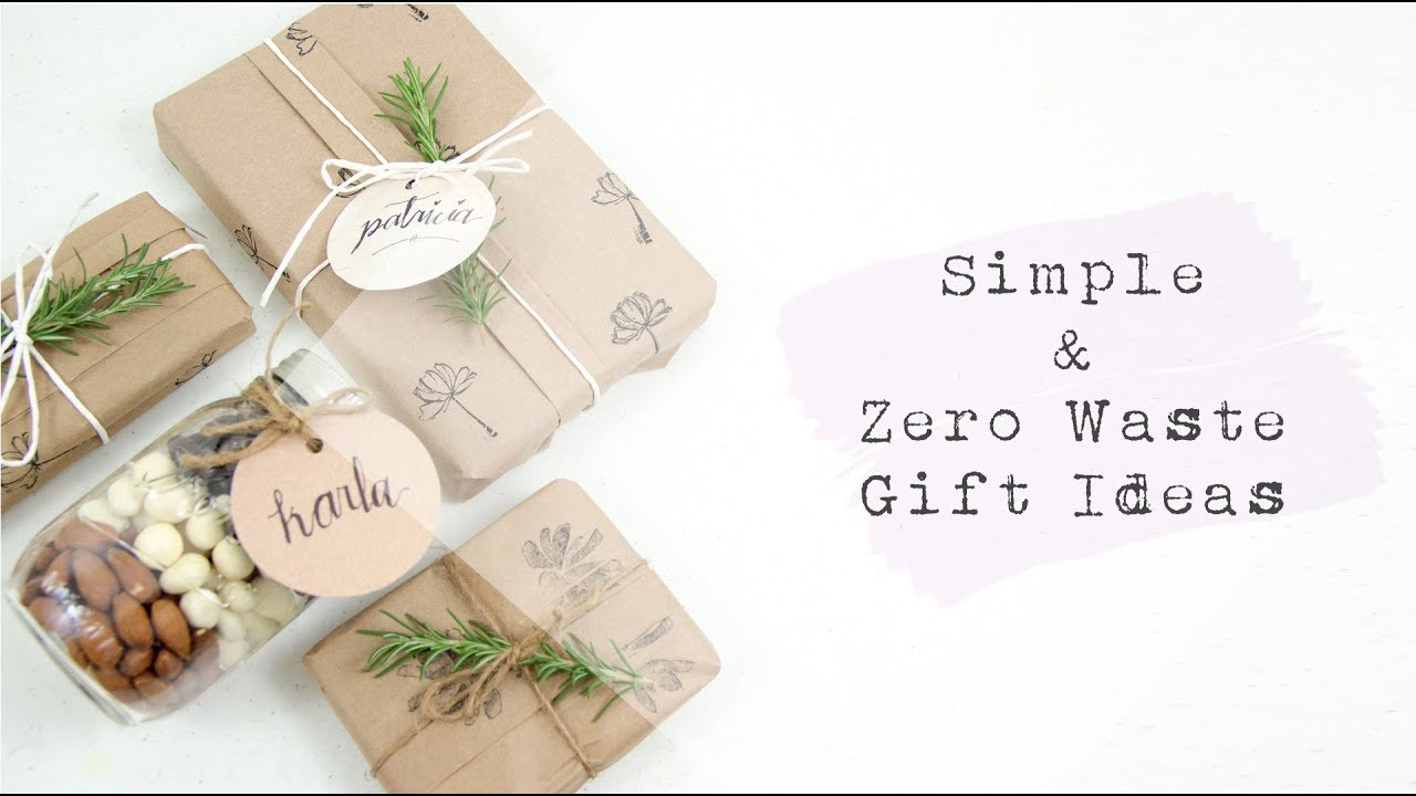 Best ideas about Zero Waste Gift Ideas . Save or Pin Simple & Zero Waste Gift Ideas Tape Free Wrapping Demo Now.