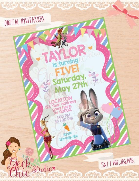 Best ideas about Zootopia Birthday Invitations . Save or Pin Zootopia Zootopia invitation Zootopia party Zootopia Now.