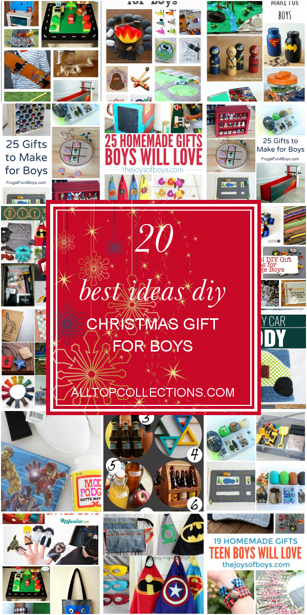 20 Best Ideas Diy Christmas Gift For Boys Best Collections