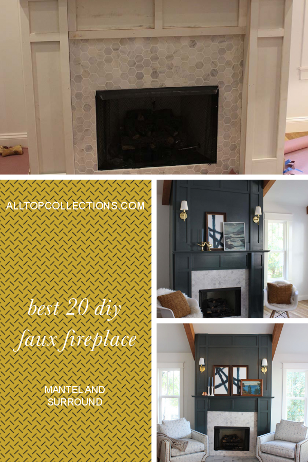 Best 20 Diy Faux Fireplace Mantel And Surround Best