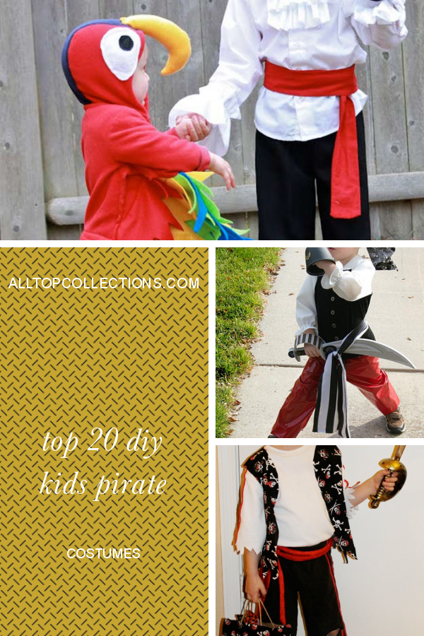 Top 20 Diy Kids Pirate Costumes Best Collections Ever