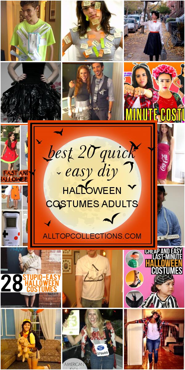 Desain Interior Kamar Easy Homemade Halloween Costumes For Adults